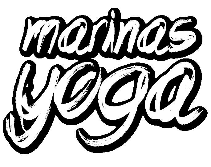 Marinas Yoga Schriftzug